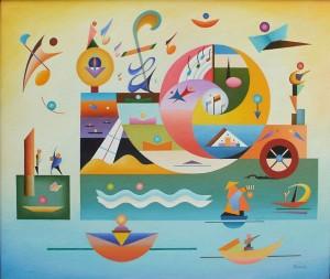 C24 Música acuática nº2 54x65cm