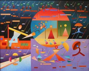 Singin' In The Rain 81x100 Cm.